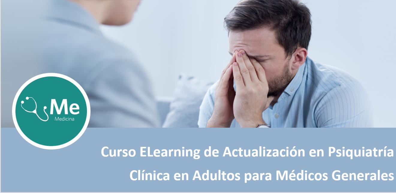 Course Image Curso E Learning de Actualización en Psiquiatría Clínica en Adultos para Médicos Generales