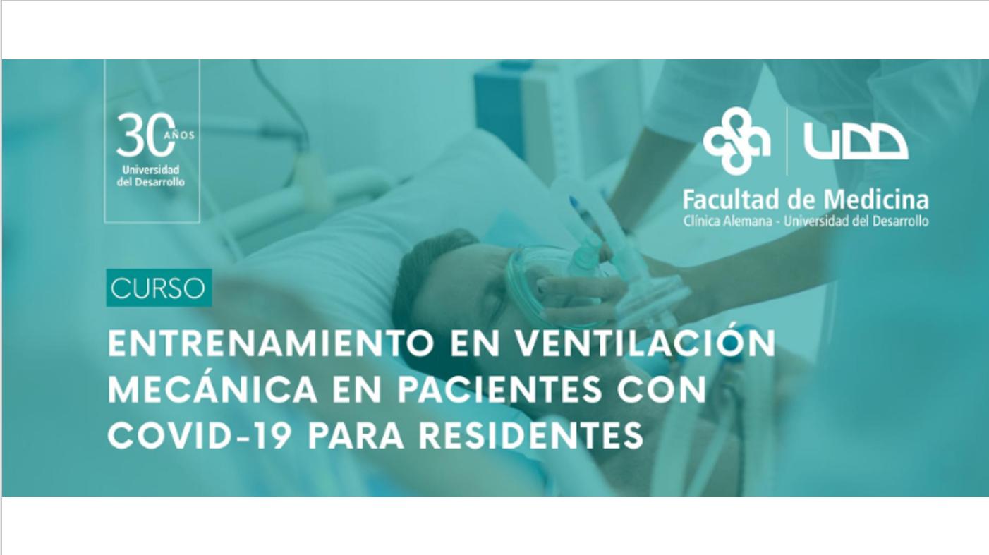 Course Image  CURSO ENTRENAMIENTO EN VENTILACIÓN MECÁNICA EN PACIENTES CON COVID-19 PARA RESIDENTES